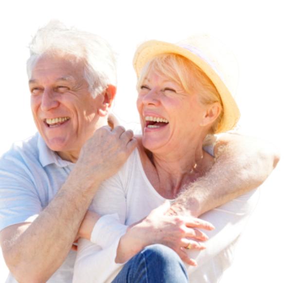 idosos felizes