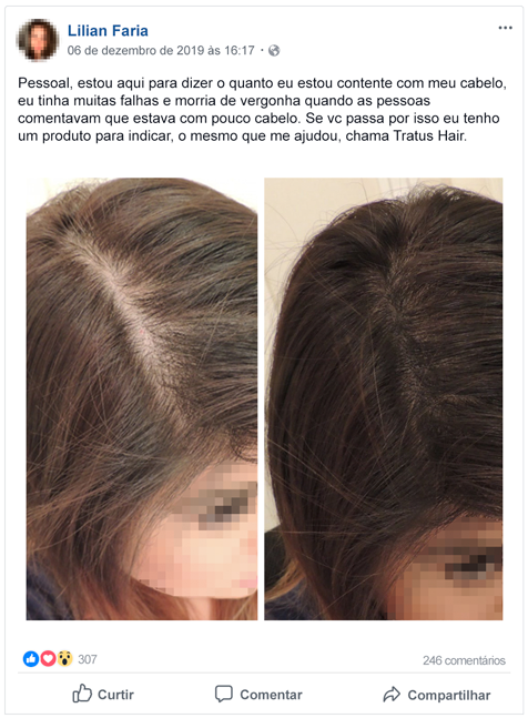 Resenha do Tratus Hair