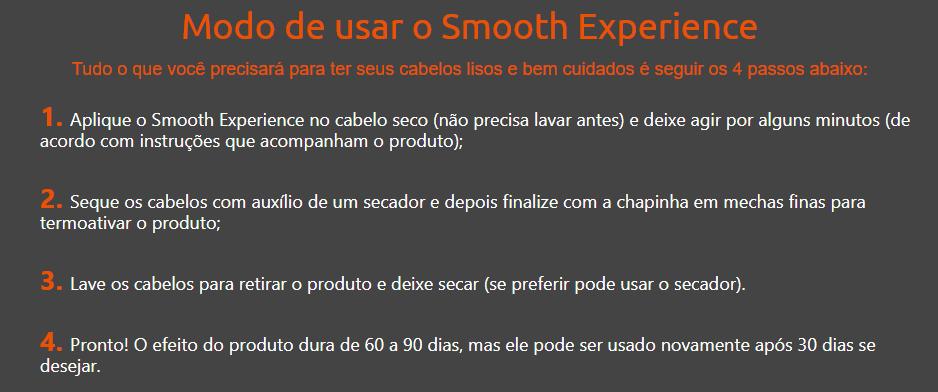 Smooth Experience composição