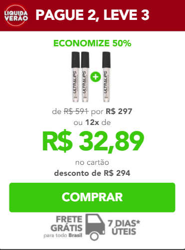 Ultra Lips preço
